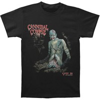 Cannibal Corpse Men's  Vile T-shirt Black