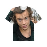 Harry Styles Shirt created by AllOverCelebs | Print All Over Me