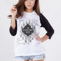 The Marauders Map Graphic T-Shirt