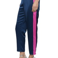 Decker Satin Side Stripe Joggers