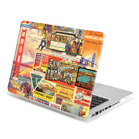 Hard Case Print Frosted (San Francisco Pattern) for Apple MacBook Pro 13 inch