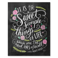 Sweet Simple Things in Life - Print & Canvas