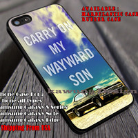 Supernatural Carry On | Quote | Movie iPhone 6s 6 6s+ 6plus Cases Samsung Galaxy s5 s6 Edge+ NOTE 5 4 3 #movie #supernatural ii