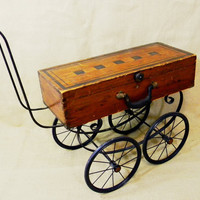 coffee table  tea cart  BUGGY CART  recycled by reclaim2fame