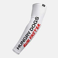 Hungry Dogs Run Faster Arm Sleeve