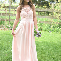 Like A Dream Dress-BLUSH