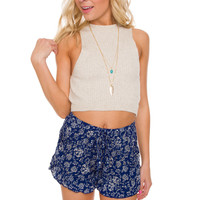 Bettie Knit Crop Top - Ivory