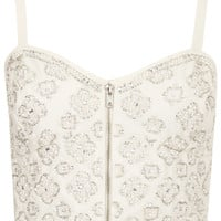 Pearl Embellished Bralet - New In This Week - New In - Topshop USA