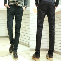 Slim Fit Luxury Men Suit Pants