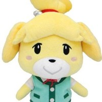 "Sanei Animal Crossing New Leaf 8"" Plush Toy: Isabelle/Shizue"