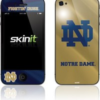 Skinit Notre Dame Fighting Irish Iphone 4 For At&T Skin