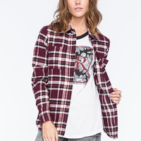 FULL TILT Womens Classic Fit Flannel Shirt | Shirts & Flannels