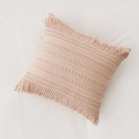 Lolita Crochet Throw Pillow | Urban Outfitters