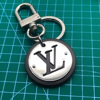 Louis Vuitton Lv Circle Bag Charm And Key Holder Black M62689 - Best Online Sale