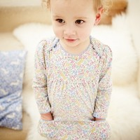 Mini Boden Dress & Tights (Baby Girls) | Nordstrom