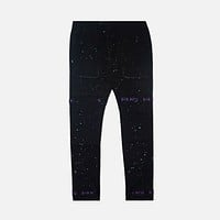 Strapped Up Slim Utility Pants Grape Splatter