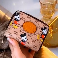 GUCCI x DISNEY joint mini women's versatile coin purse card holder