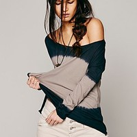 Free People Womens LA Livin Shore Break Tee -