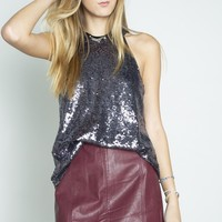 Shimmery Cocktail Top