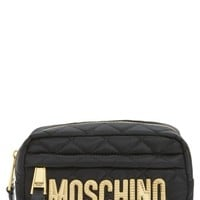 Moschino Quilted Logo Makeup Case | Nordstrom