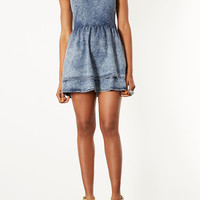 MOTO Acid Denim Dress - Dresses - Clothing - Topshop USA