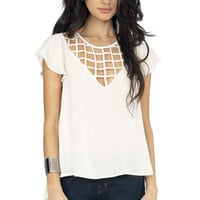 Caged and Confused Top $33