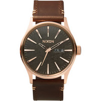 Nixon The Sentry Leather Watch at PacSun.com