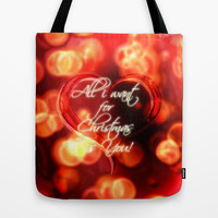All i want... Tote Bag by Emiliano Morciano (Ateyo)