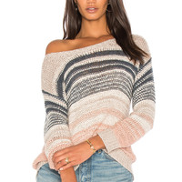 cupcakes and cashmere Reena Sweater in Latte   REVOLVE