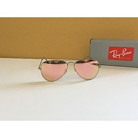 NEW Ray Ban RB 3025 019/Z2 58-14-135 Silver/ Pink 58MM Lens Sunglasses