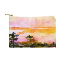 Ginette Fine Art Sunset In The Wetlands Pouch