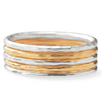 Stackable Band Rings-Multi--Size 8