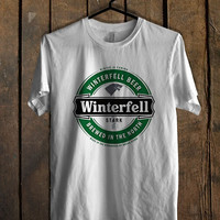 game of thrones winterfell beer Mens T Shirt *