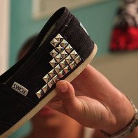 SALE FASTER ORDER Womens size uk3/us5 studded toms