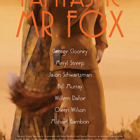 Wes Anderson Collection - Fantastic Mr. Fox Film Poster