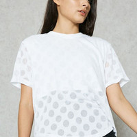 Adidas Originals Casual Transparent Wave Point Breathable Short-sleeve T-shirt