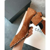AlexanderWang  Women Casual Shoes Boots  fashionable casual leather