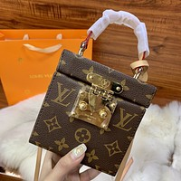 Louis Vuitton LV classic hot sale printed women's suitcase bag
