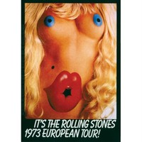 Rolling Stones - Europe 73 Decal