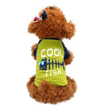 DCCKU7Q dog clothes for small dogs summer dogs pets clothing products for dogs Chihuahua roupa para cachorro
