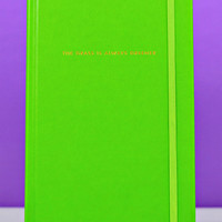 kate spade new york: large notebook - the grass is always greener