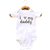I Love My Daddy Onesuit