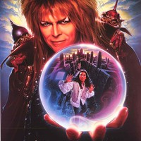 Labyrinth Goblin King Movie Poster 24x36