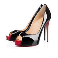 New Very Prive 120mm Black Patent Leather