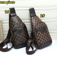LV Louis Vuitton Casual new fashion backpack chest bag Messenger bag