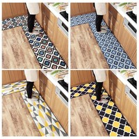 Autumn Fall welcome door mat doormat Wear and Tear Resistance Kitchen Long Nylon Bath Bathroom Shower Floor  Rug Anti-Slip  Home Decor shipping AT_76_7