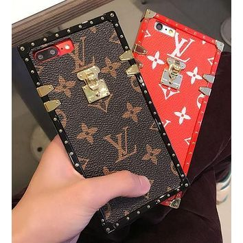 LV 2017 Hot ! iPhone 8 iPhone 8 Plus - Stylish Cute On Sale Hot Deal Matte Couple Phone Case For iphone 6 6s 6plus 6s plus iPhone 7 iPhone 7 plus iPhone X iPhone XR iPhone XS iPhone XS MAX