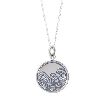 Waves Pendant Necklace
