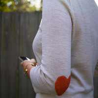 Iheart Sweater by JuliLand on Etsy