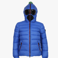 AI Rider On The Storm Boys Down Jacket in Royal Blue/Turq